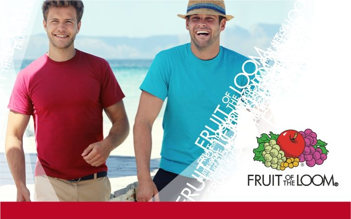 T shirt Original T Fruit of the Loom