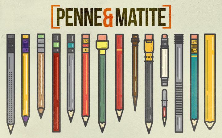 Penne e matite personalizzate