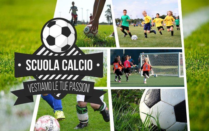 Scuola calcio abbigliamento personalizzato