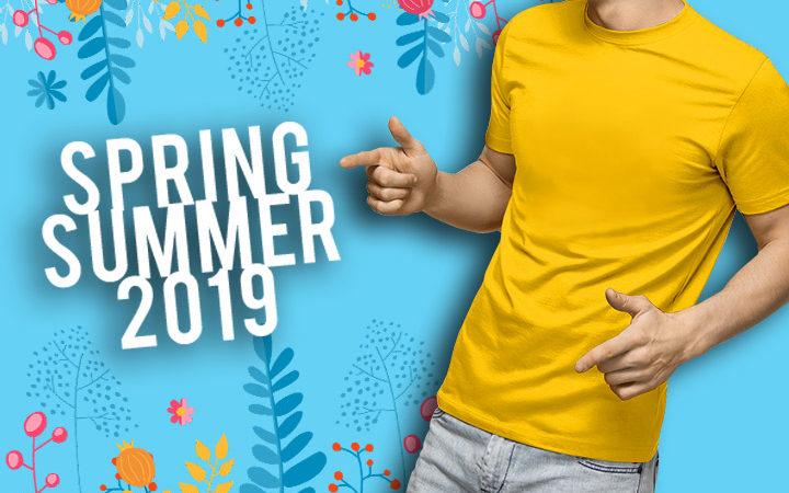 T-shirt personalizzate Primavera-Estate 2019