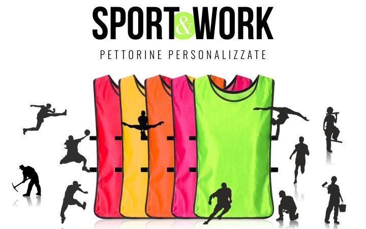 Pettorine sportive e da lavoro personalizzate