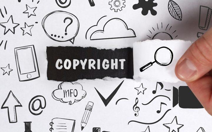 Magliette stampate copyright e diritti d'autore
